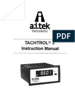 Tachtrol Manual