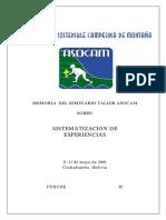 AGRICULTURA SOSTENIBLE CAMPESINA MONTAÑA-SISTEMATIZACIÓN EXPERIENCIAS.pdf