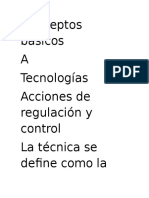 Conceptos básicos tecnologia