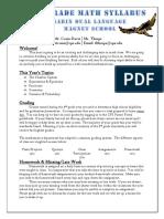 crain-davis welcome letter