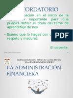 Administración Financiera y Estados Financieros
