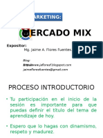 Mercado Mix - Las 4 P´s
