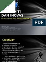 1 Kreativiti n Inovasi Dlm Pdp