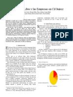 Articulo - Software LIbre en Empresas CD Juarez