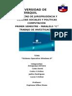Sistema-operativo Windows 8