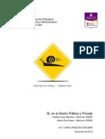 Turbo RAV Reporte de Accidentes Viales Proyecto de Investigacion UACH
