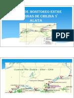 Puntos de Monitoreo Entre Las Zonas de Chilina..Aumen