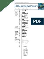 Uji Keseragaman Kandungan Plus Metode Validasi Hplc-1