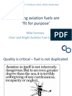 Aviation Fuel Quality Presentation