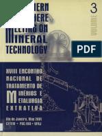 Artigo Concentração de Minério de Ouro Da Fazenda Pedra Preta- Pb Utilizando Concentrador Centrifugo Entmme 2001