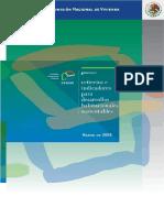 Criterios e Indicadores Para Desarrollos Habitacionales Sustentables