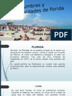 Costumbres y Festividades de Florida(Ingles)