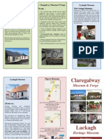 Claregalway & Lackagh Leaflet English