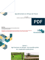 140513 Sidy Diop Agroalimentaire en Afrique