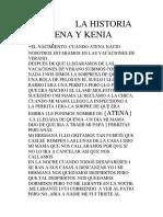 La Historia de Atena y Kenia