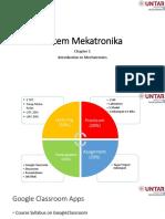 Sistem Mekatronika pertemuan 1