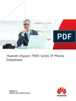 Huawei ESpace 7900 Series IP Phone Datasheet