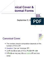 CanonicalCover_NormalForms
