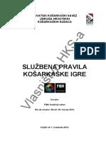 Sluzbena Kosarkaska Pravila 2012