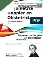 Flujometría Doppler en Obstetricia
