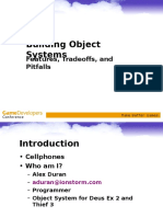 Alex Duran - Building Object Systems