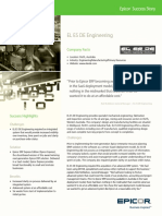 EL ES de Engineering Epicor CaseStudy