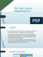 Computer Lab Layout - Izzati