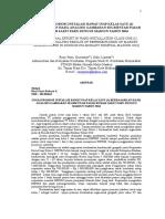 Jurnal tentang Administrasi kebijakan dan kesehatan