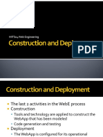 Construction and Deployment