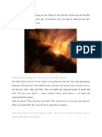 Solar system essay
