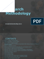 101829132 Research Methodology