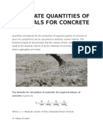 CALCULATE QUANTITIES OF MATERIALS FOR CONCRETE.docx