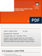 Materi Proses Coklit PPDP