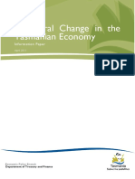 Structural Change in the Tasmanian Economy Info Paper