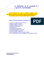 Rezolvari Subiecte Psihopatologie an I Sem I - UEB