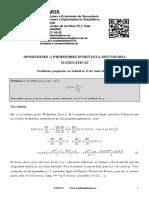 Problemas Resueltos Oposiciones Matemáticas Madrid 2016