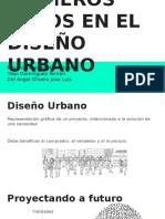 PRIMEROS PASOS EN EL DISEÑO URBANOros Pasos en El Diseño Urbano