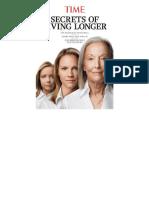Time Secrets of Living Longer