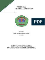 Proposal PKL Badak oleh anak teknik kimia