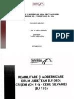 Studiu de Fezabilitate 108D