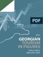 Georgian Tourism in Figures 2013 Strucrure Industry Data