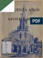 """Chile, """"50 Años de Apostolado Carmelita"""""""
