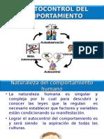 Tema 3 El Autocontrol