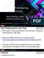 Alex Vlachos Advanced VR Rendering Performance GDC2016