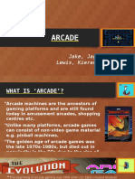 arcade presentation