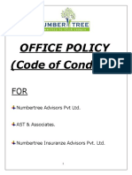 Office Policy-Code of Conduct 2015 - Amendment 2