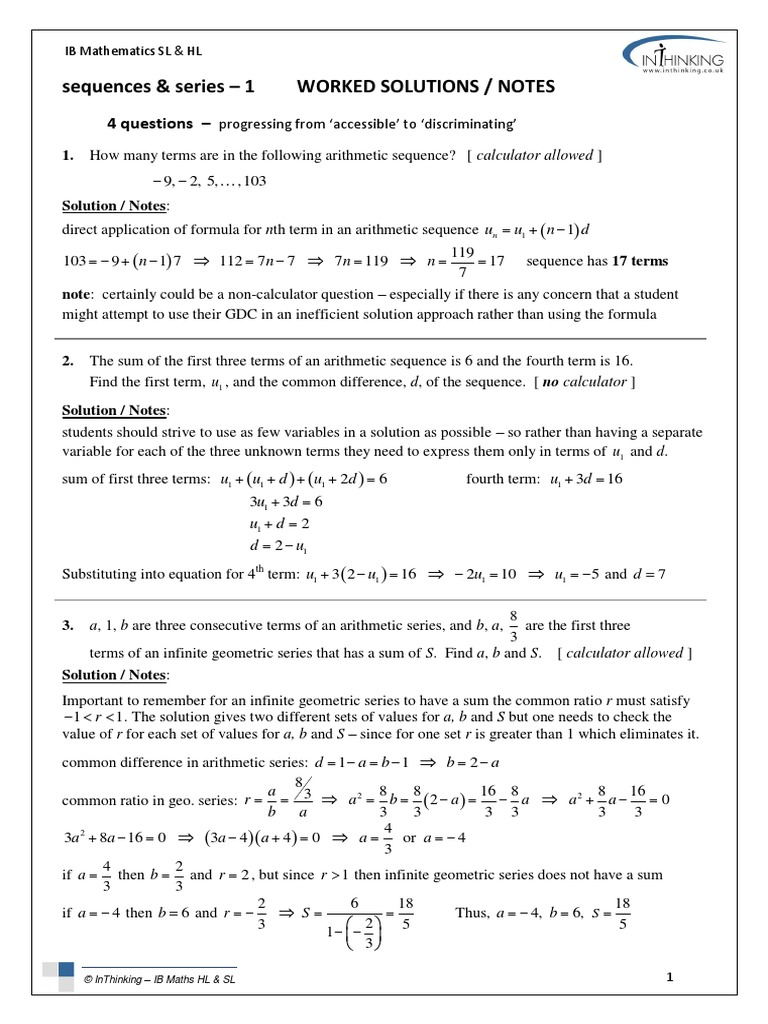 4_Qs_sequences_series_1_solutions_notes pdf