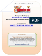 08-Prediksi Soal CPNS Bahasa Inggris