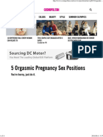 5 Orgasmic Pregnancy Sex Positions