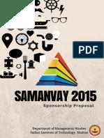 Samanvay Brochure 2015